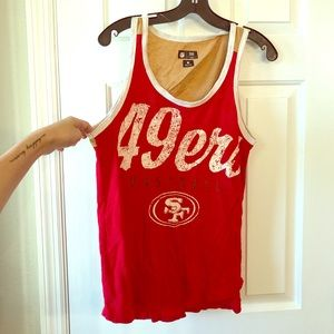 49ers NFL tank! ❤️💛